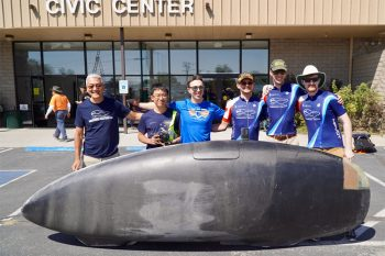 Image link to Human Powered Vehicle Design Team sets world record at international speed-bike competition