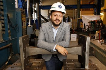 Image link to PhD candidate honoured by Canadian Institute of Steel Construction