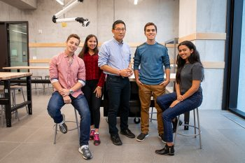 Image link to 'Incredible and incredibly busy': International Pearson Scholars on their first month at U of T Engineering