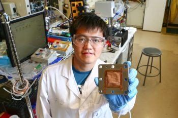 Image link to U of T Engineering and Caltech collaborate on pathway to carbon-neutral plastics