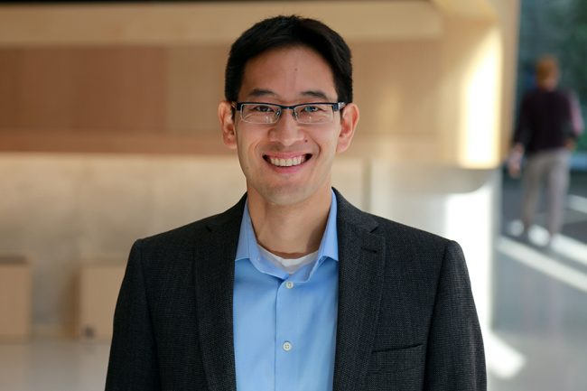 Professor Timothy Chan (MIE) is collaborating with the University Health Network to launch Redeploy, an optimization tool to improve hospital staffing during the pandemic. (Photo: Pam Walls)