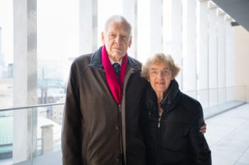 Image link to Collective Impact: Barbara and Frank Milligan continue to nurture the next generation of biomedical engineering leaders