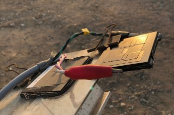 Image link to Two-sided solar cells can collect scattered light to gather more energy