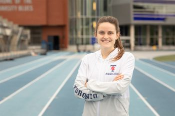 Image link to Friends and family: U of T's Lucia Stafford to share track with big sister in Olympic debut