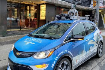Image link to WinTOR: New partnership will train self-driving cars to handle tough winter conditions