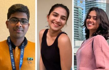 Image link to 'High energy and optimism': International Pearson Scholars start at U of T Engineering
