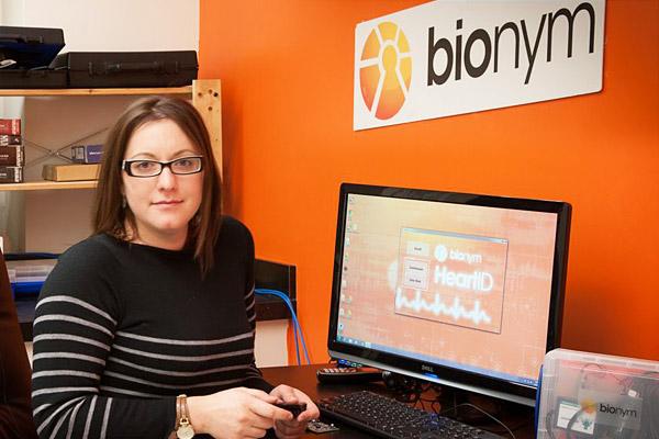 Bionym cofounder Foteini Agrafioti (ElecE  MASc 0T8 PhD 1T1). Photo courtesy Foteini Agrafioti