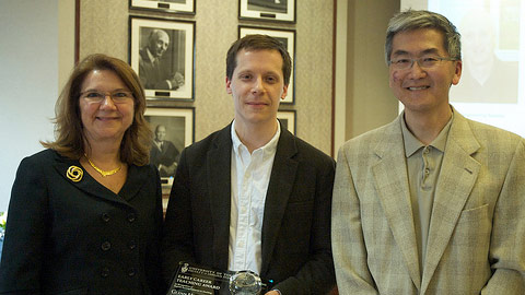 Dean Cristina Amon, Glenn Hibbard and Jun Nogami