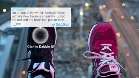 screenshot of Dabble It
