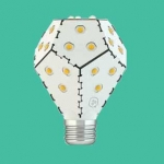 The world's most energy efficient light bulb now dims without a dimmer