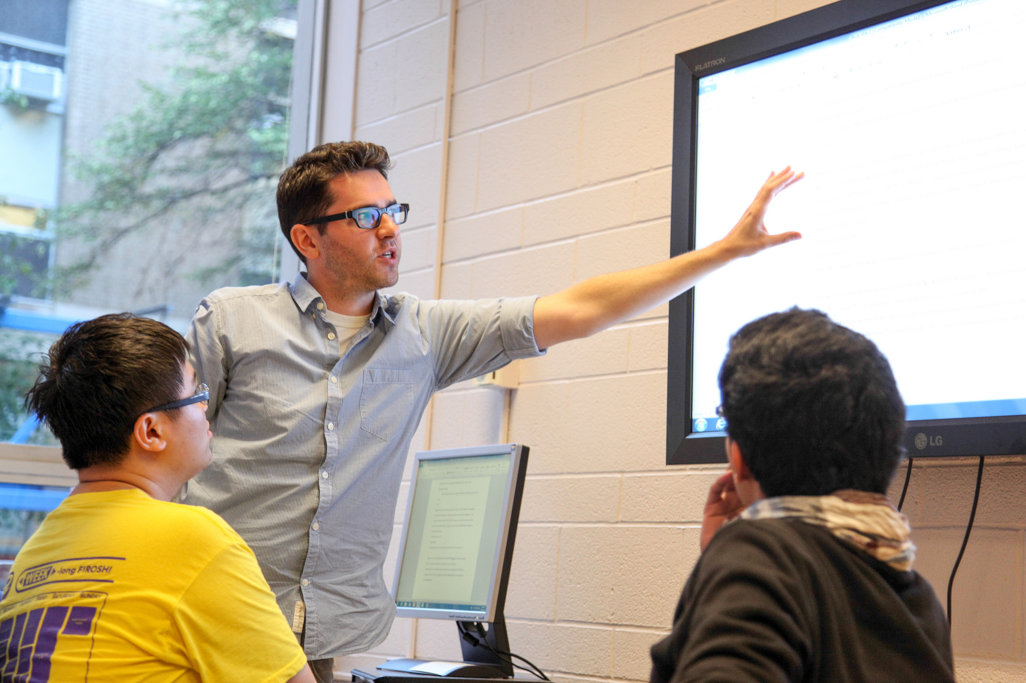 Students in the Engineering Communication Program