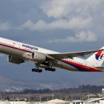 The MH370 airplane