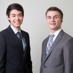 Students Christopher Choquette-Choo and Daniel McGinnis