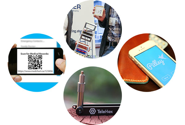 Creations from Kepler Communications, Pillsy, TeleHex and MedChart at Hatchery Demo Day