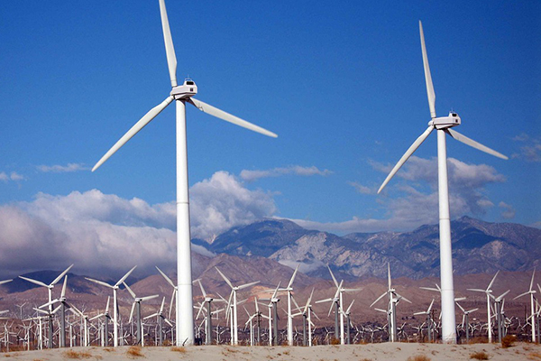 Wind turbines are used to generate electricity. ECE's Centre for Power & Information hosted its inaugural Research Showcase event April 18, and incorporating renewable energy sources into the grid topped the agenda. (Image via Creative Commons CC0).
