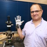 Professor Hani Naguib (MIE, MSE) has been elected to the Royal Society of Canada's College of New Scholars, Artists and Scientists. Naguib is an international leader in in manufacturing new multifunctional smart materials. (credit: Tyler Irving)