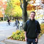 Sam Harrison (Year 3 EngSci) has been chosen as a member of the Canadian Youth Climate Coalition at the global UN climate change summit COP22. (Credit: Marit Mitchell).