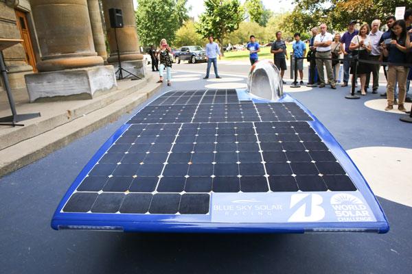 Polaris solar vehicle