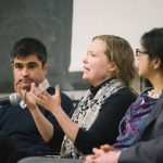 Panel discussion at U of T Engineering