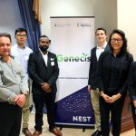 Team Genecis won first place at Hatchery Demo Day