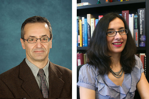 Professors Reza Iravani and Milica Radisic
