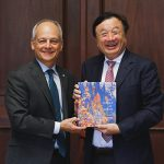 Huawei CEO visits U of T to explore ways to further strategic partnership