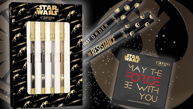Cargo Cosmetics Star Wars line/Courtesy: Cargo Cosmetics
