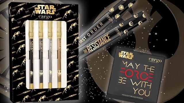 Cargo Cosmetics Star Wars line/Courtesy: Cargo Cosmetics